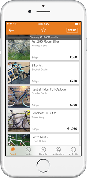 Get the Adverts mobile app!